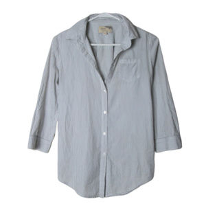 Elizabeth & James cohen striped button back shirt